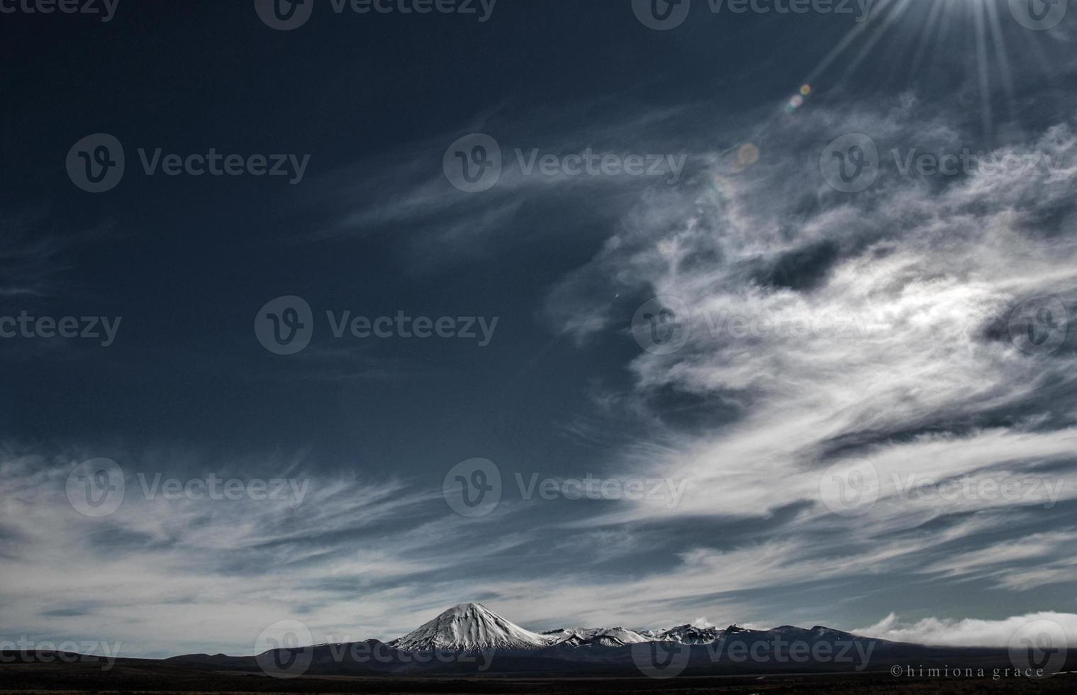 vulkanisk himmel foto