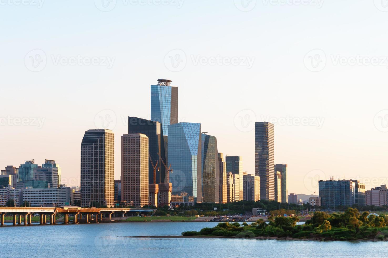 seoul skyline foto