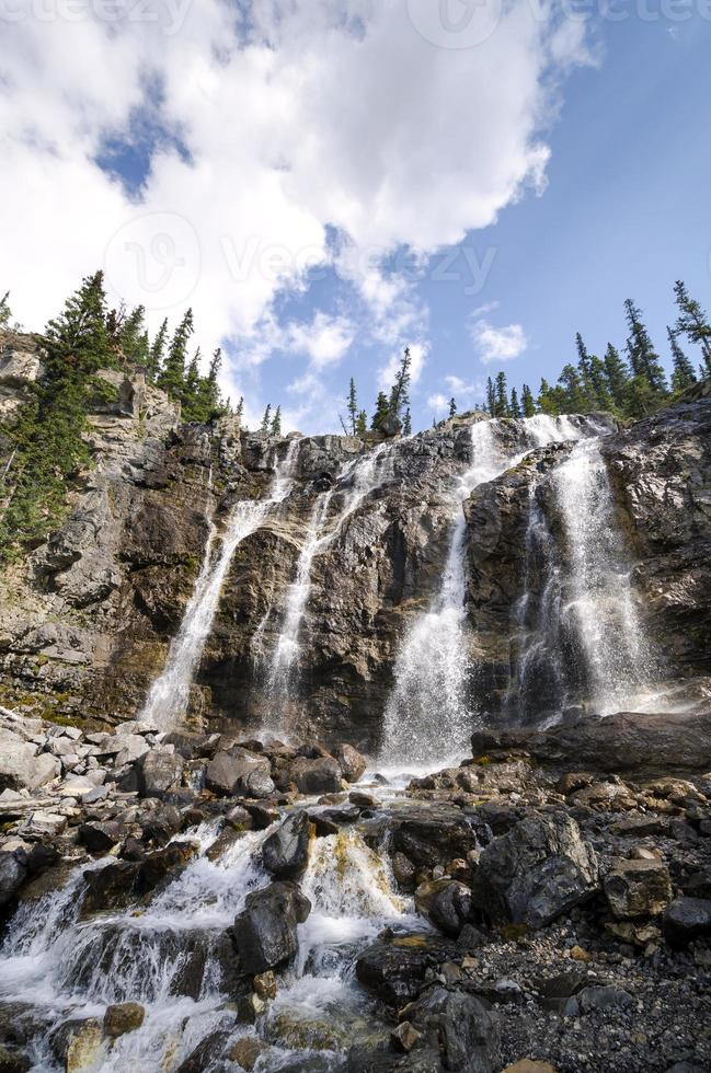 tangle Creek faller i Kanada foto