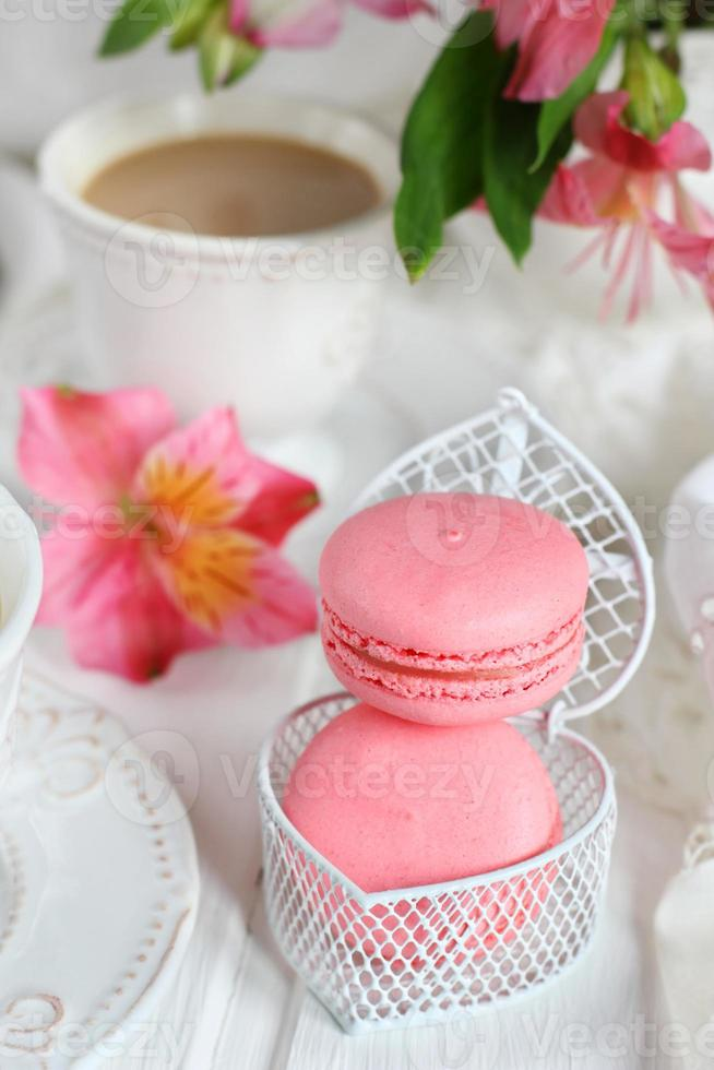 jordgubbmakron foto