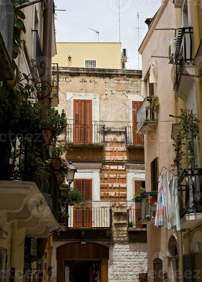 italienska gamla stan foto