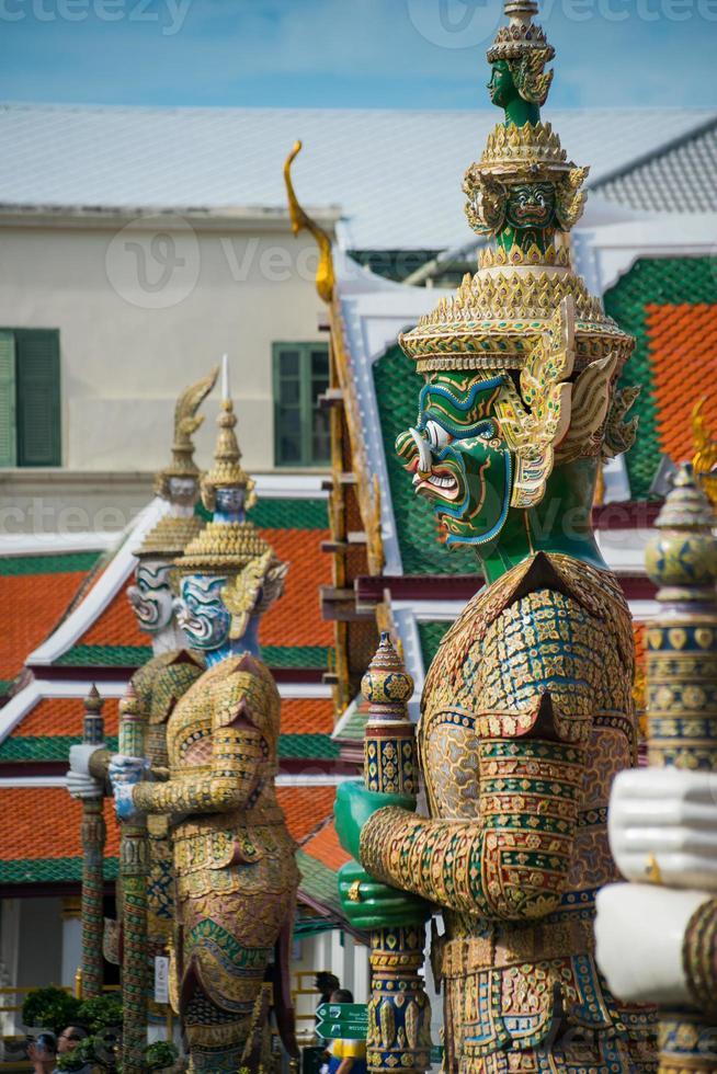 smaragd buddha tempel foto