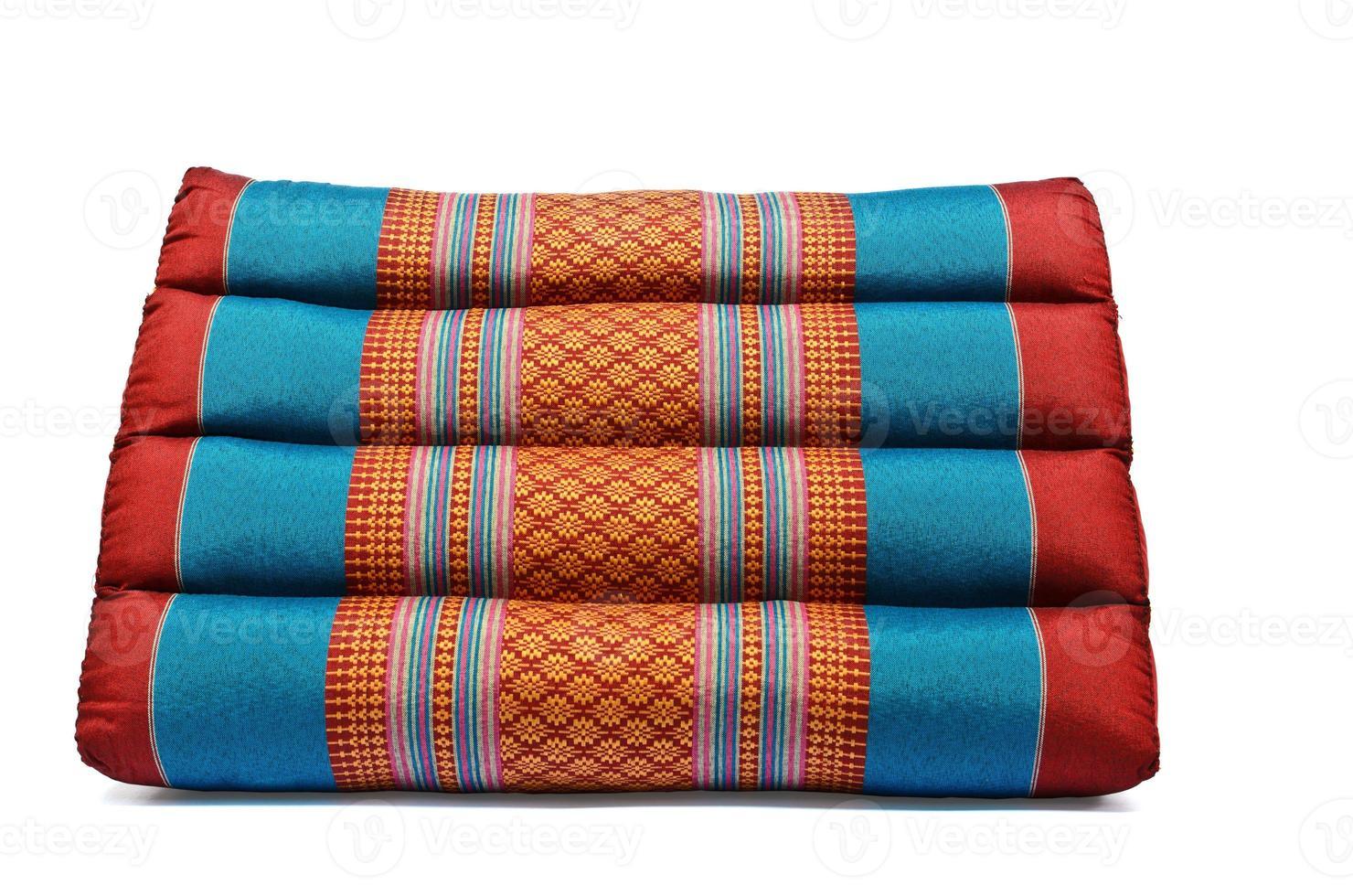 traditionell thailändsk stil kudde foto
