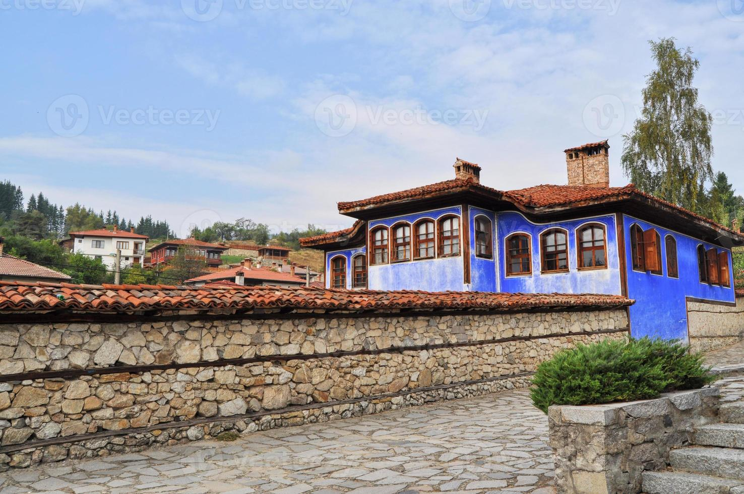 traditionell bulgarisk arkitektur foto