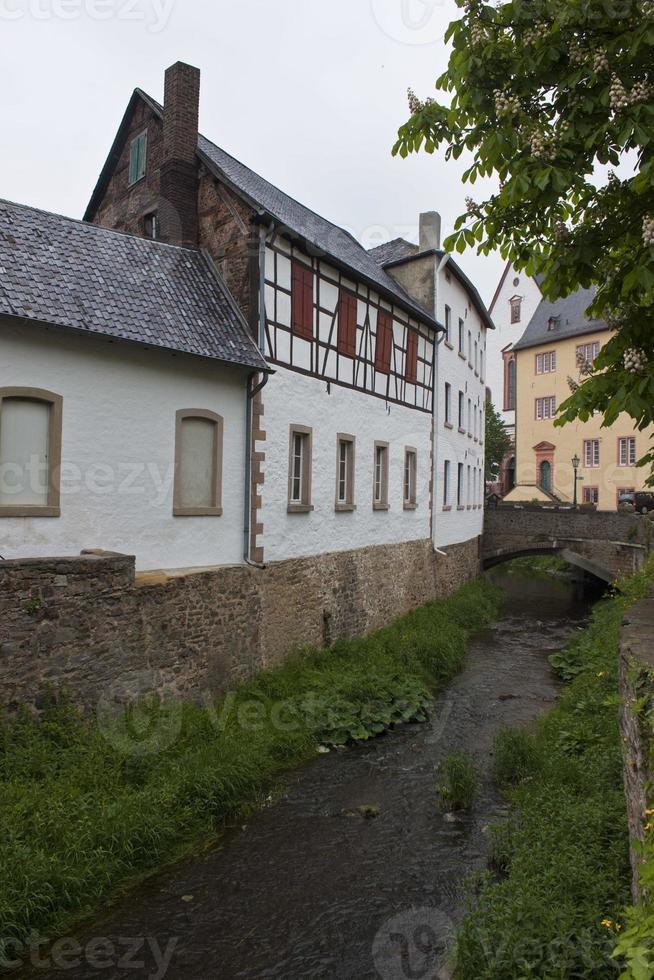 historiska hus i dålig muenstereifel foto