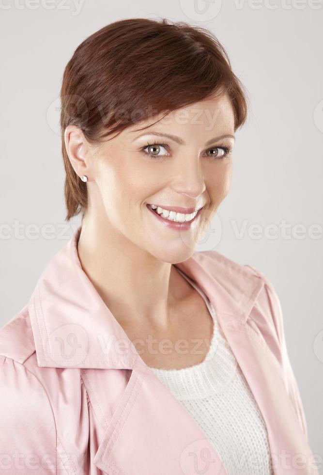 kaukasisk kvinna foto
