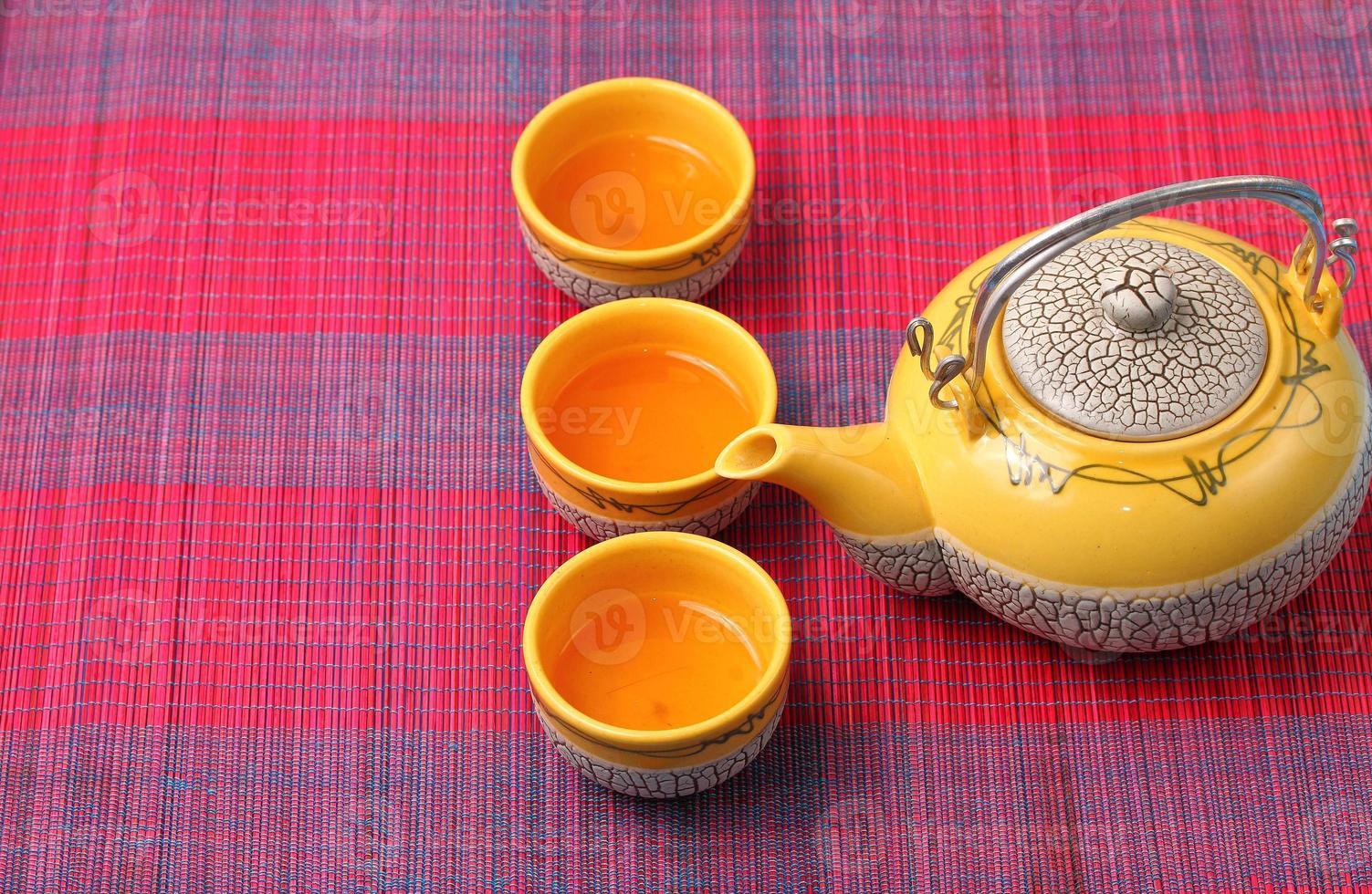 asiatisk tesats foto