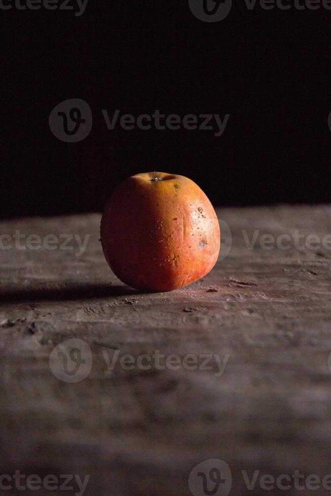 ruttet äpple foto