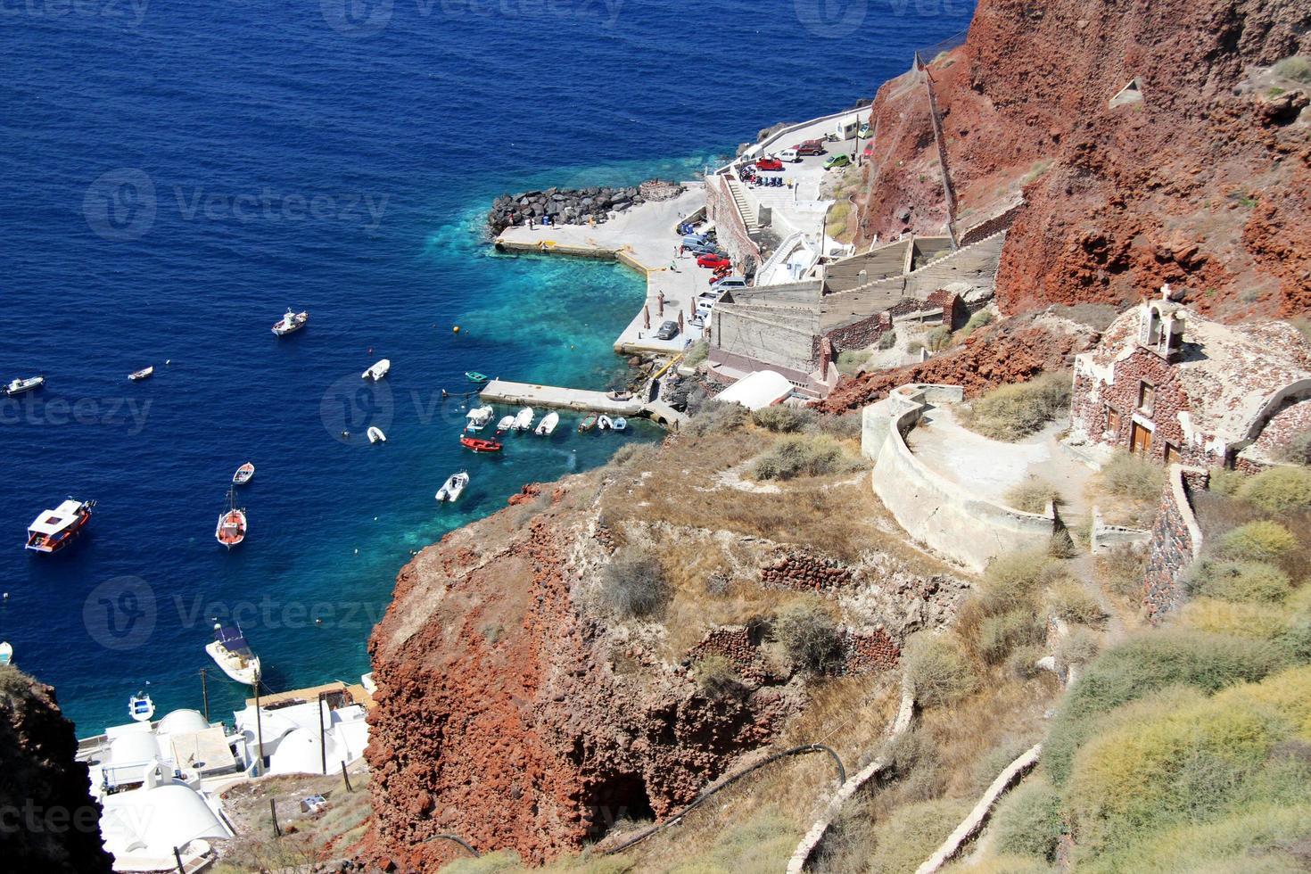 puerto santorini foto