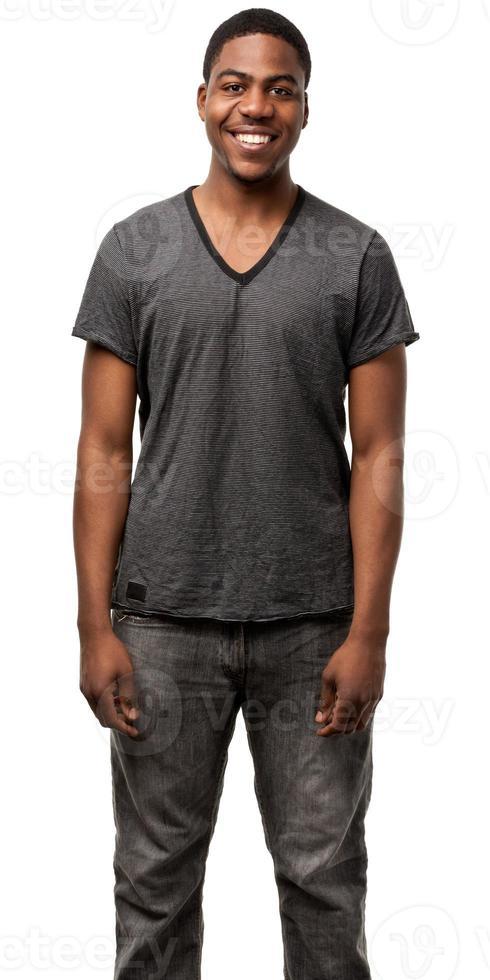 ung manlig porträtt foto