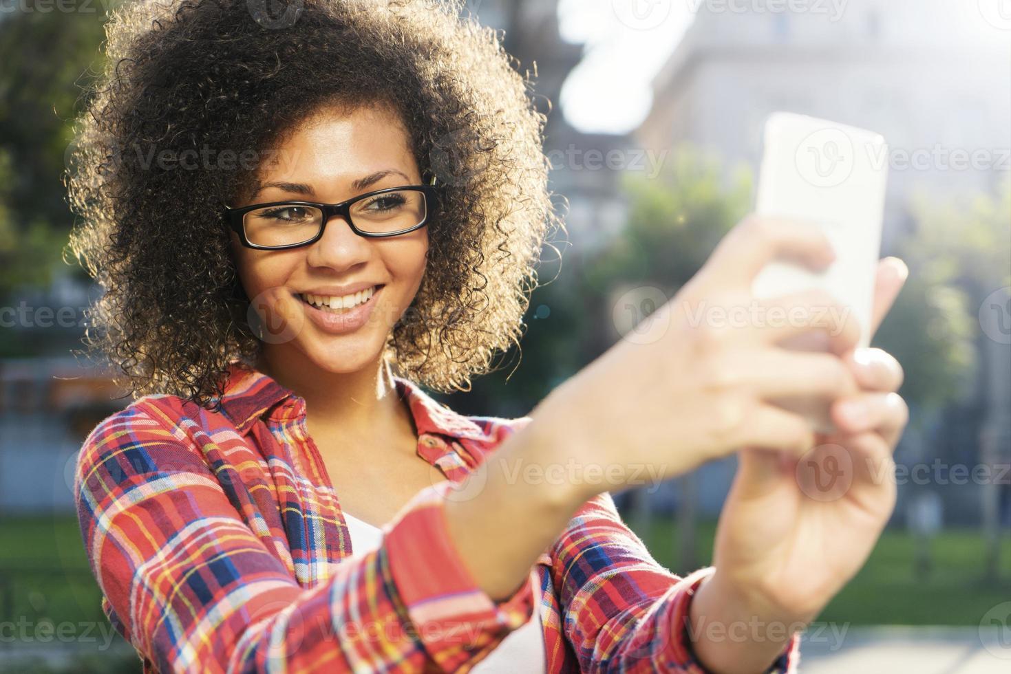 chatta med en vän online foto