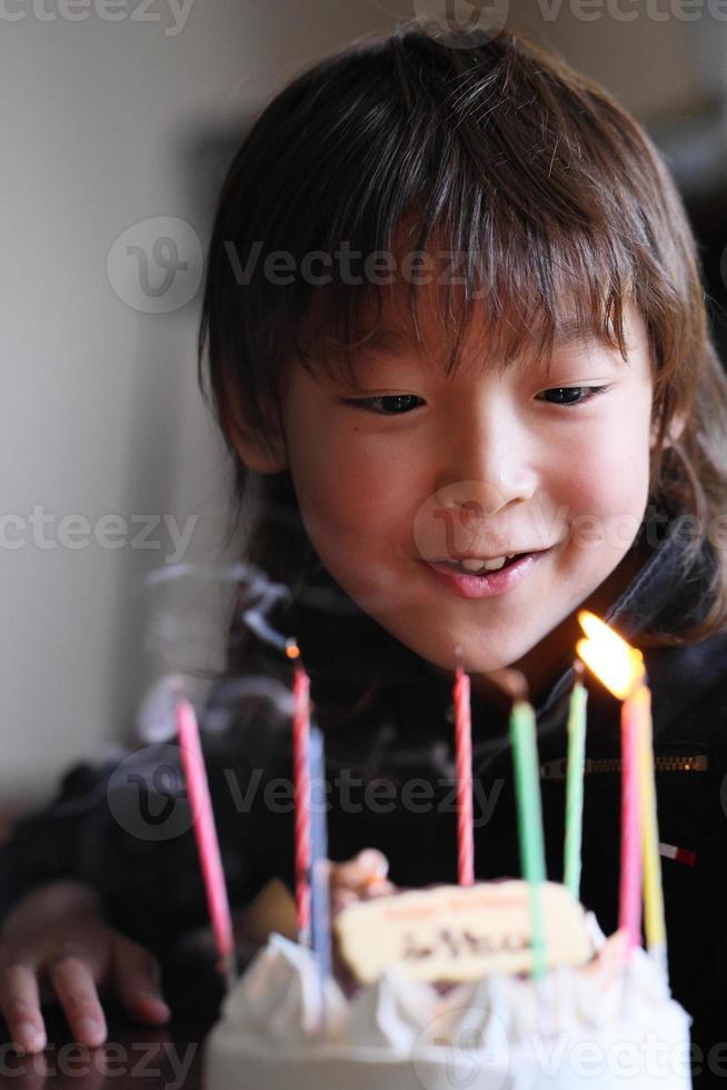 födelsedagstårta foto