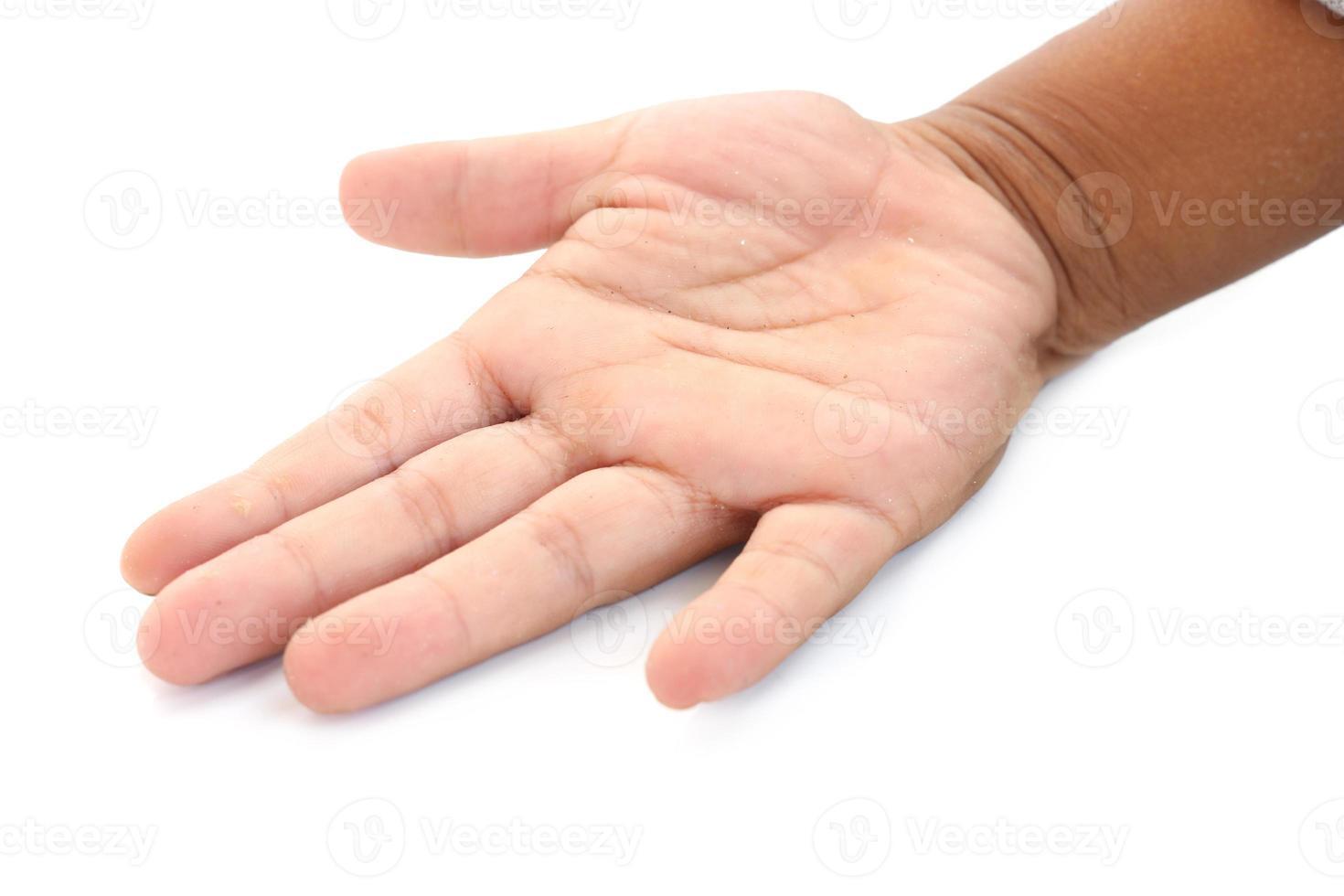 liten hand foto