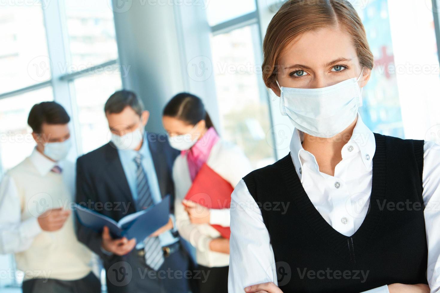 risk för influensa foto
