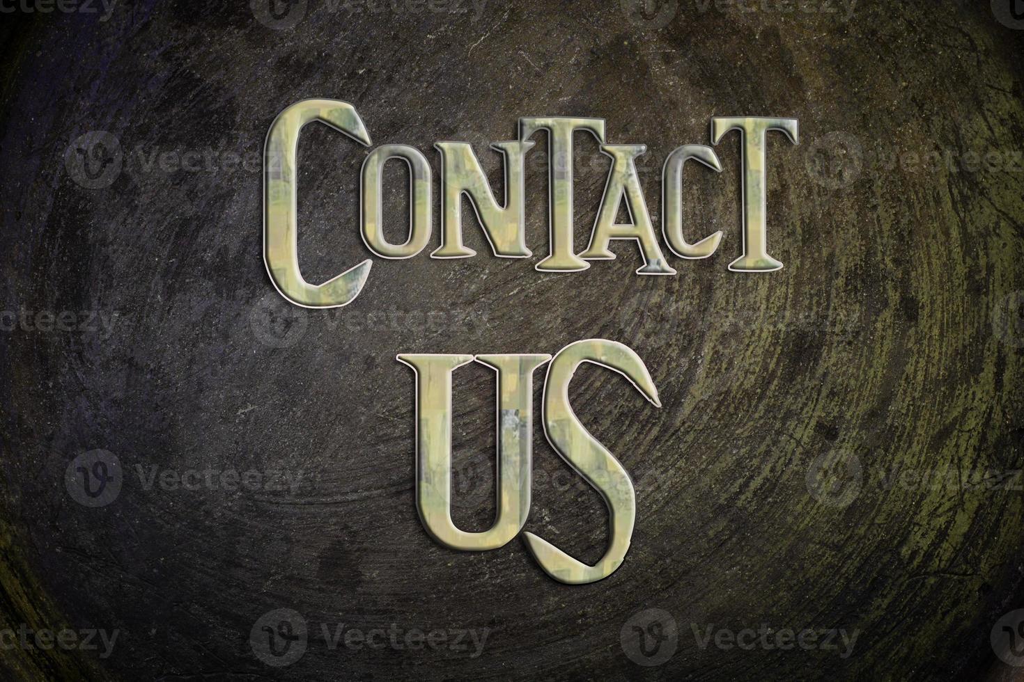 kontakta oss koncept foto