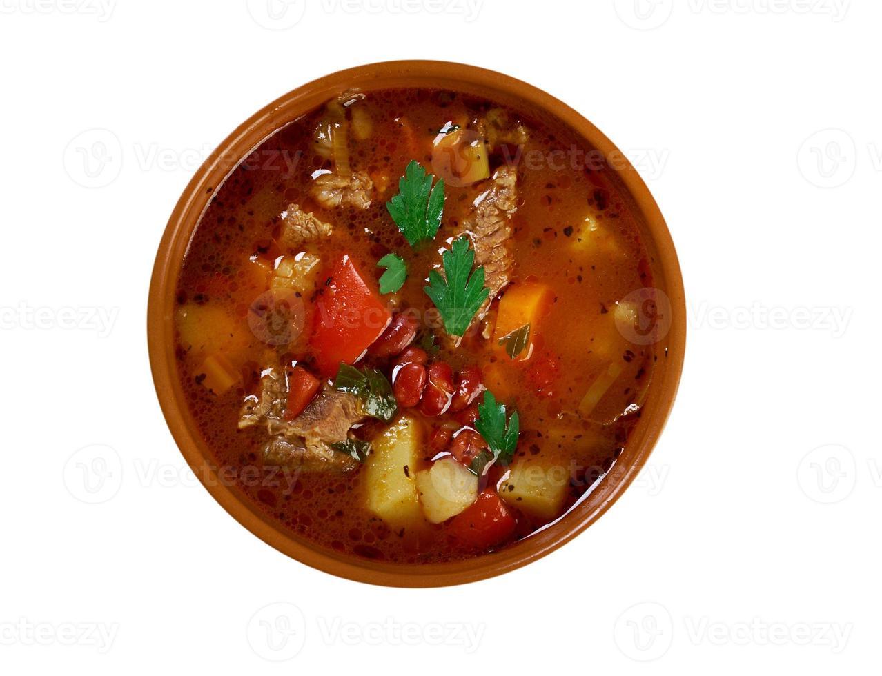 eintopf - traditionell tysk maträtt. foto