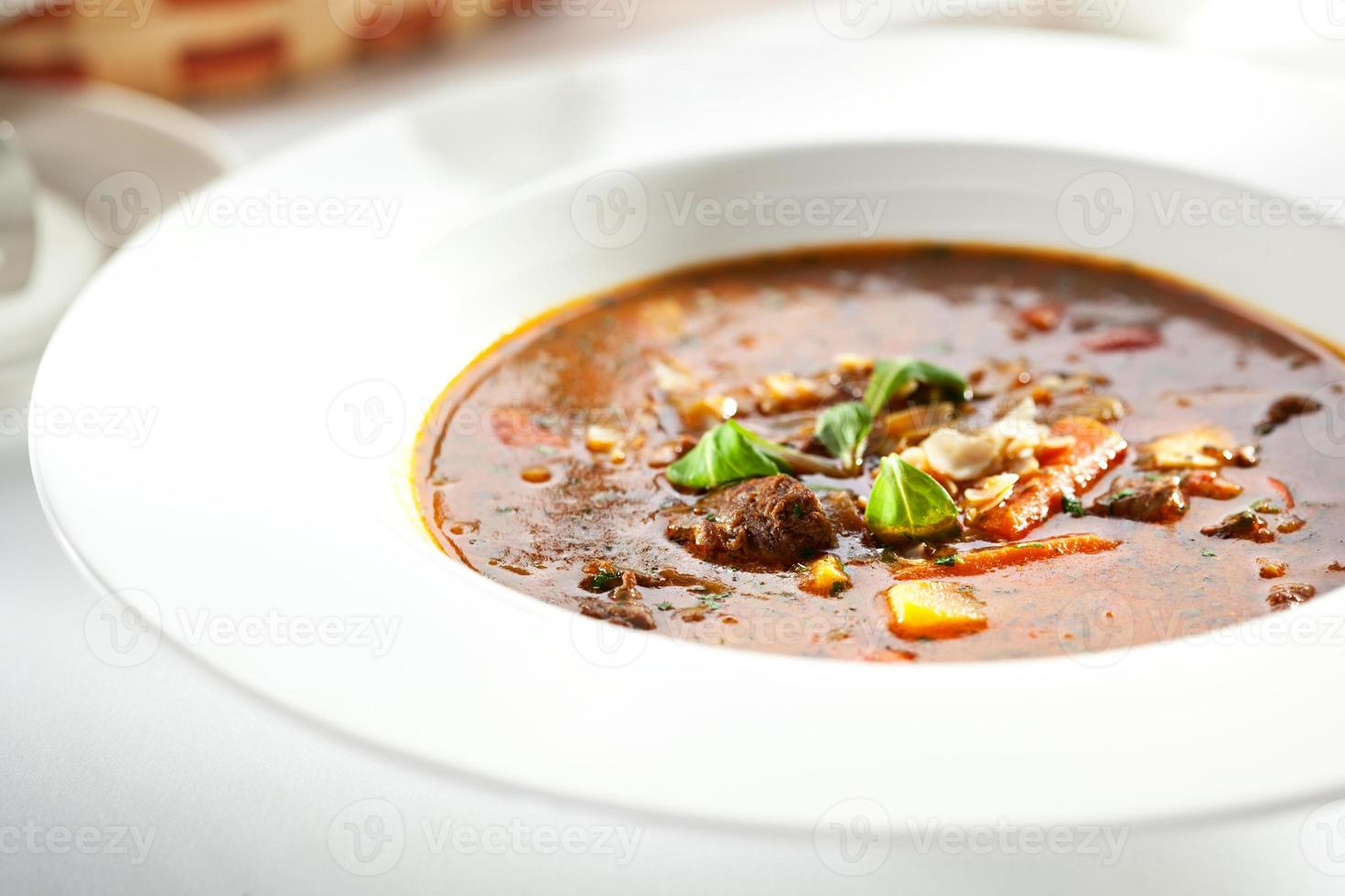 soppa gulasch foto
