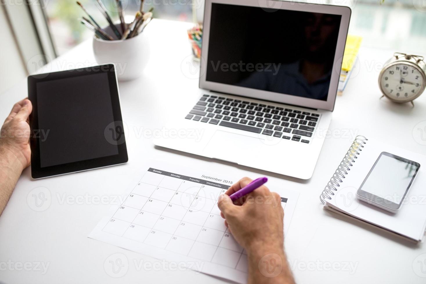 skapa ett schema foto