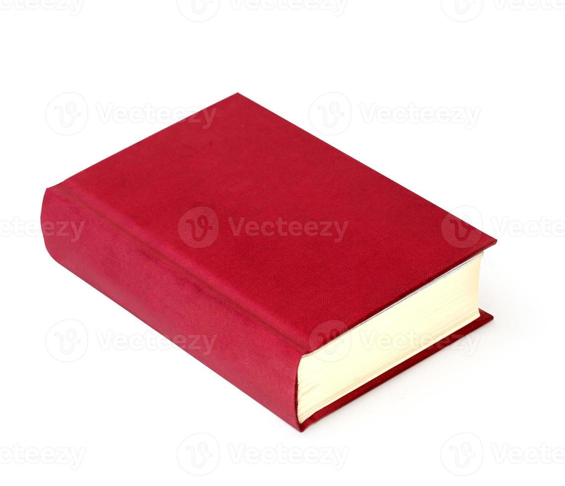 bok röd foto