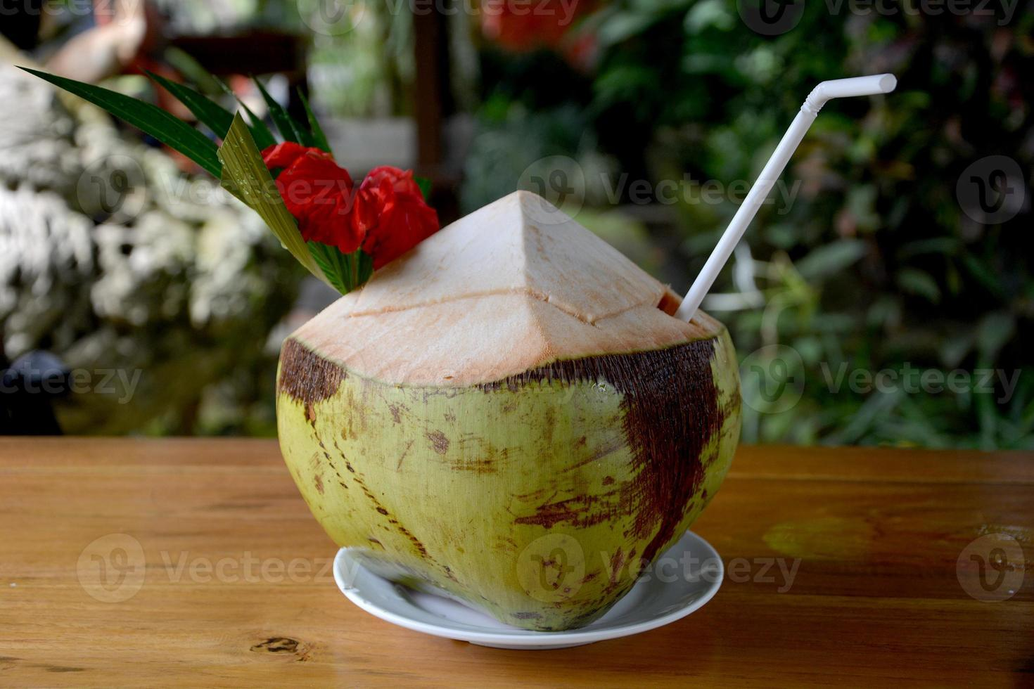 kokosnöt drink foto