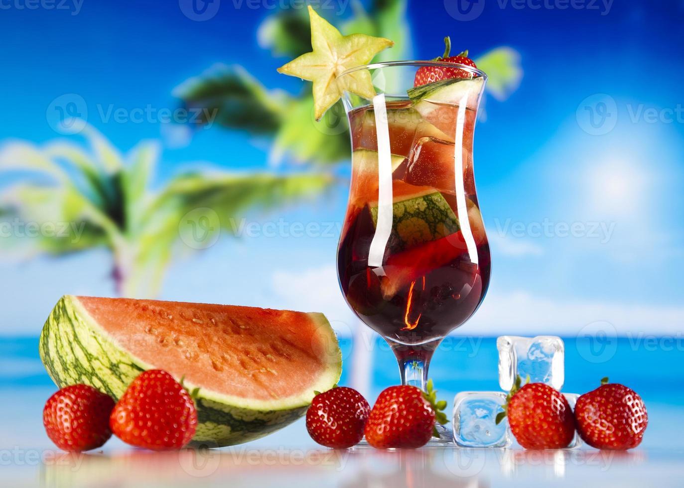 tropisk drink foto