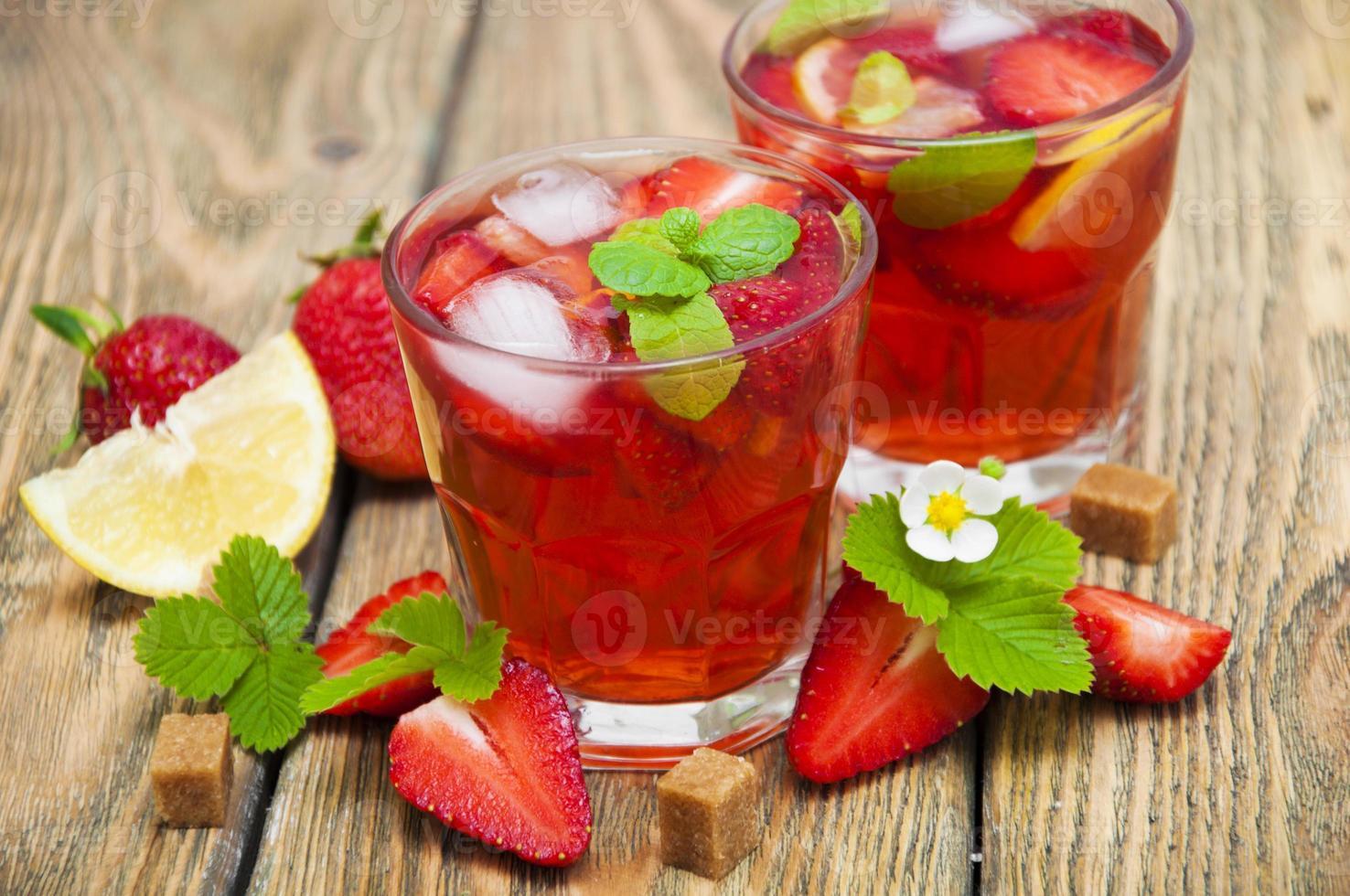 jordgubbsdrink foto