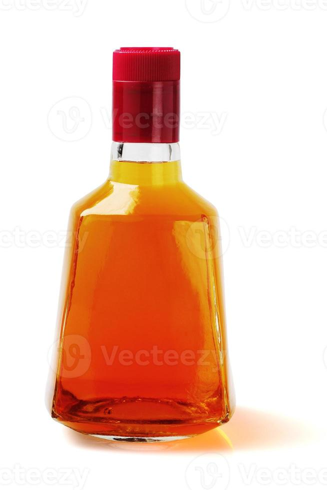 flaska alkoholhaltig dryck foto