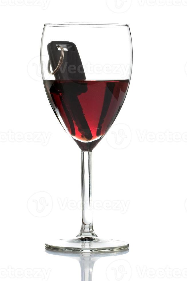 dricka och kör inte koncept foto
