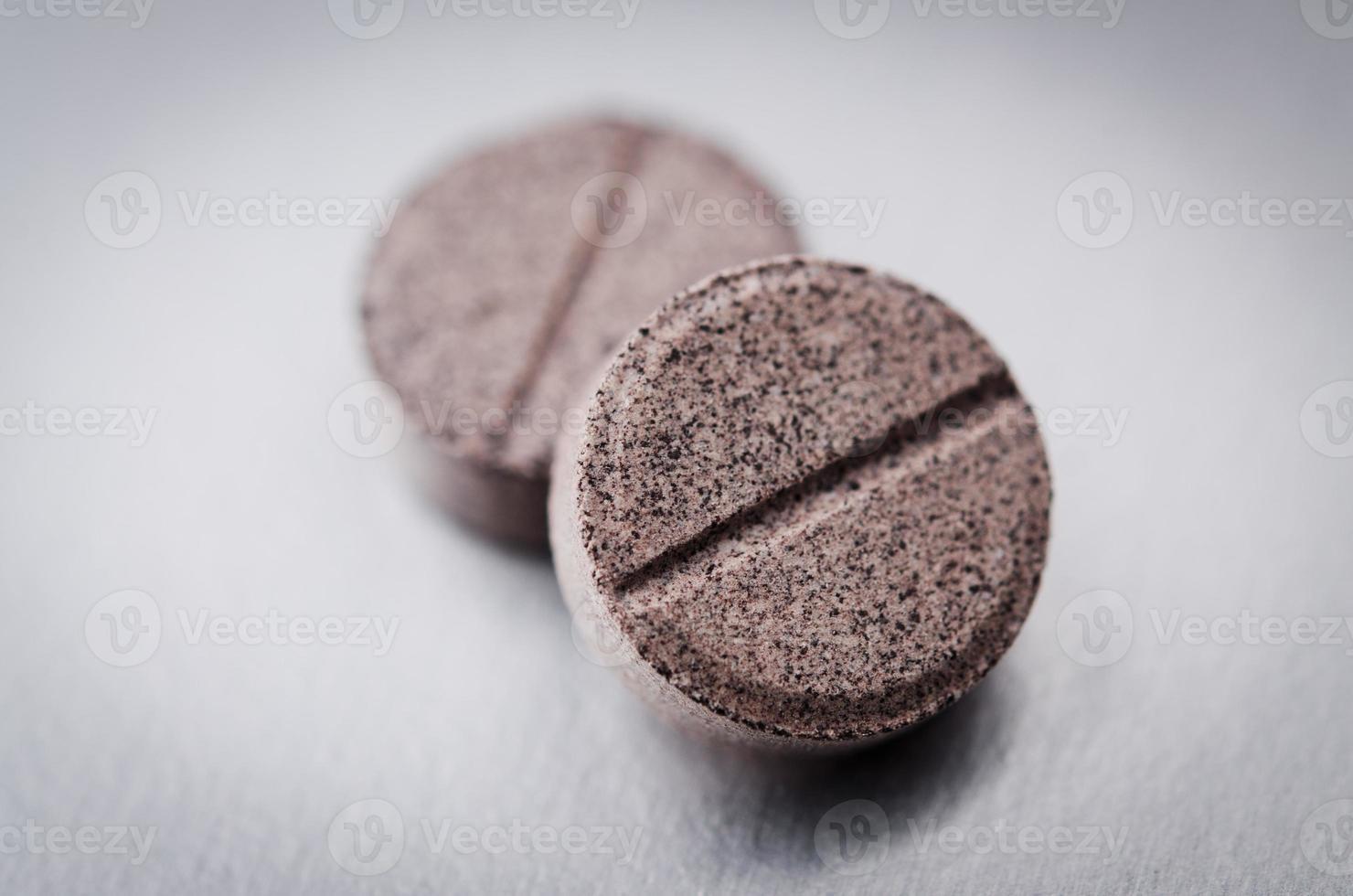 två piller foto
