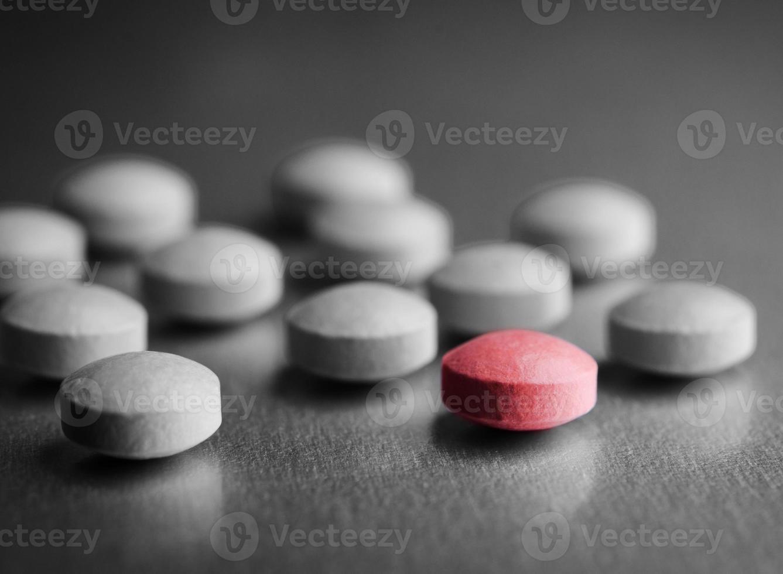 speciella röda piller foto