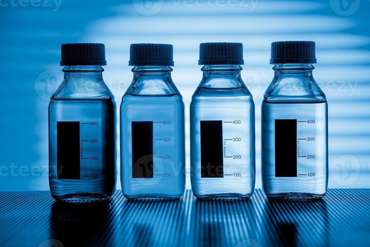 laboratorieutrustning för fysisk kemi foto