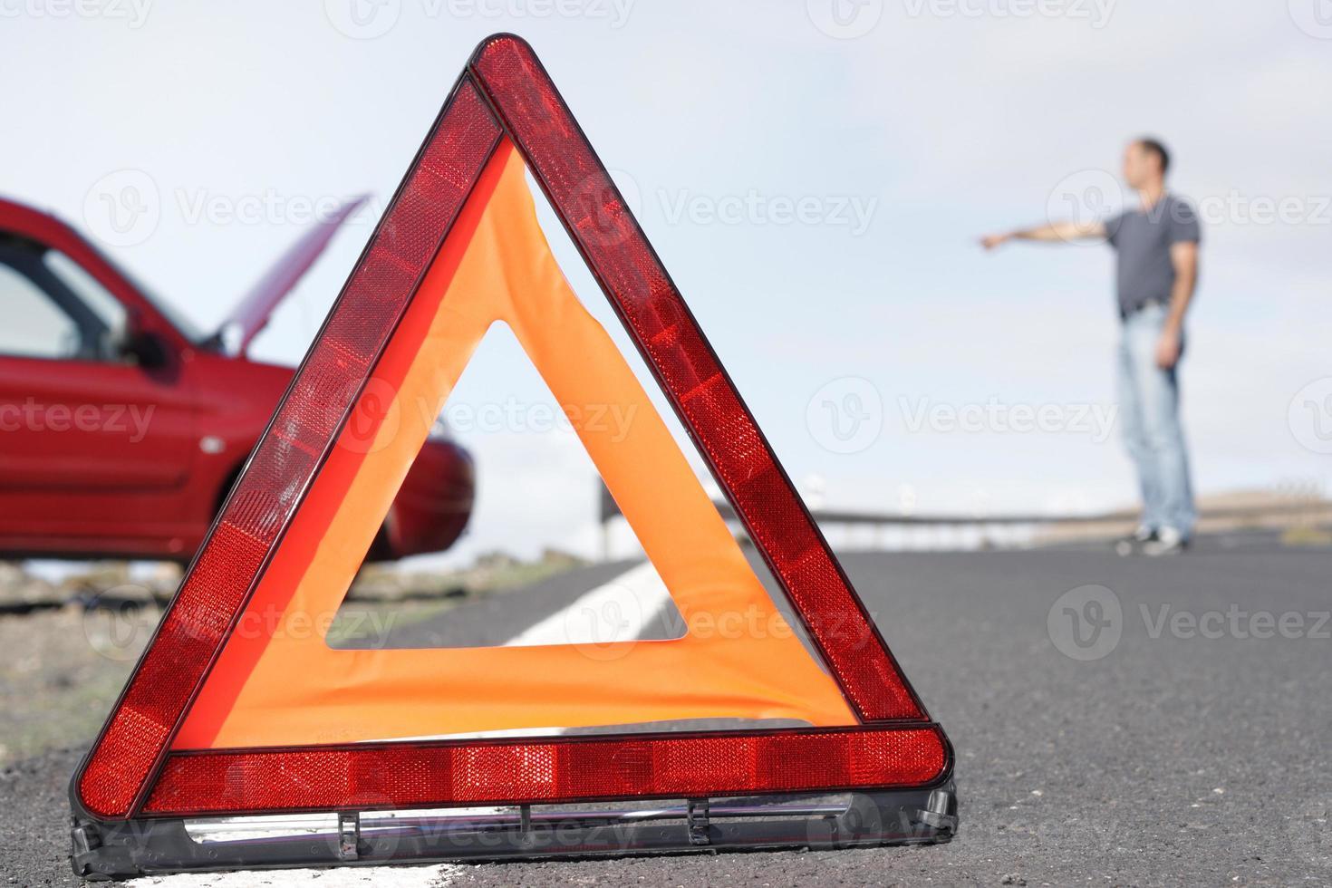 varning triangel foto