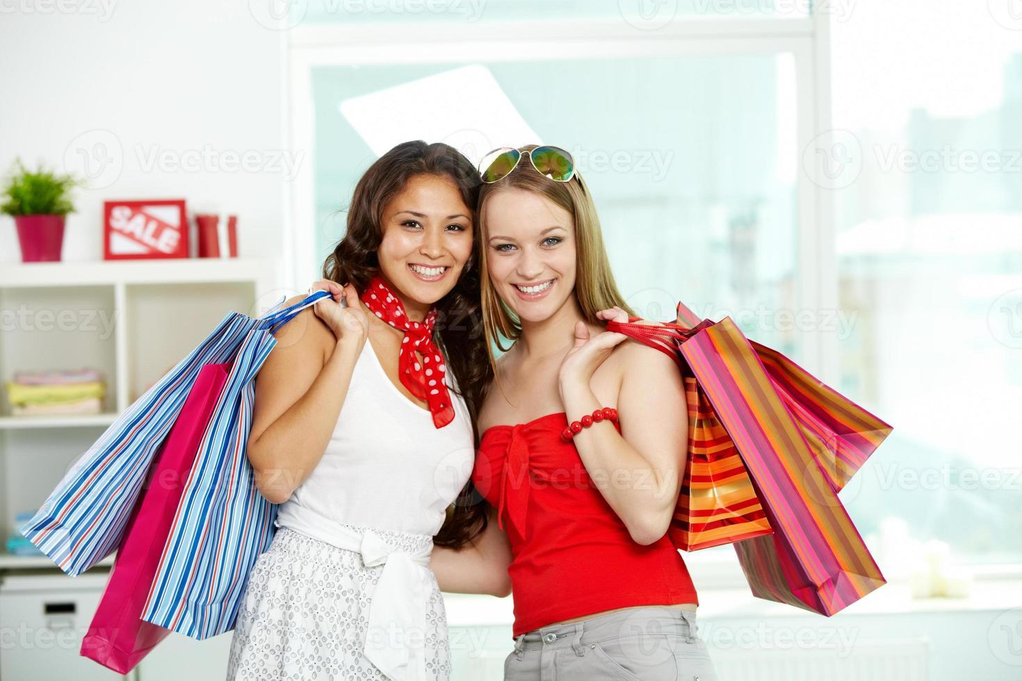 glada kunder foto