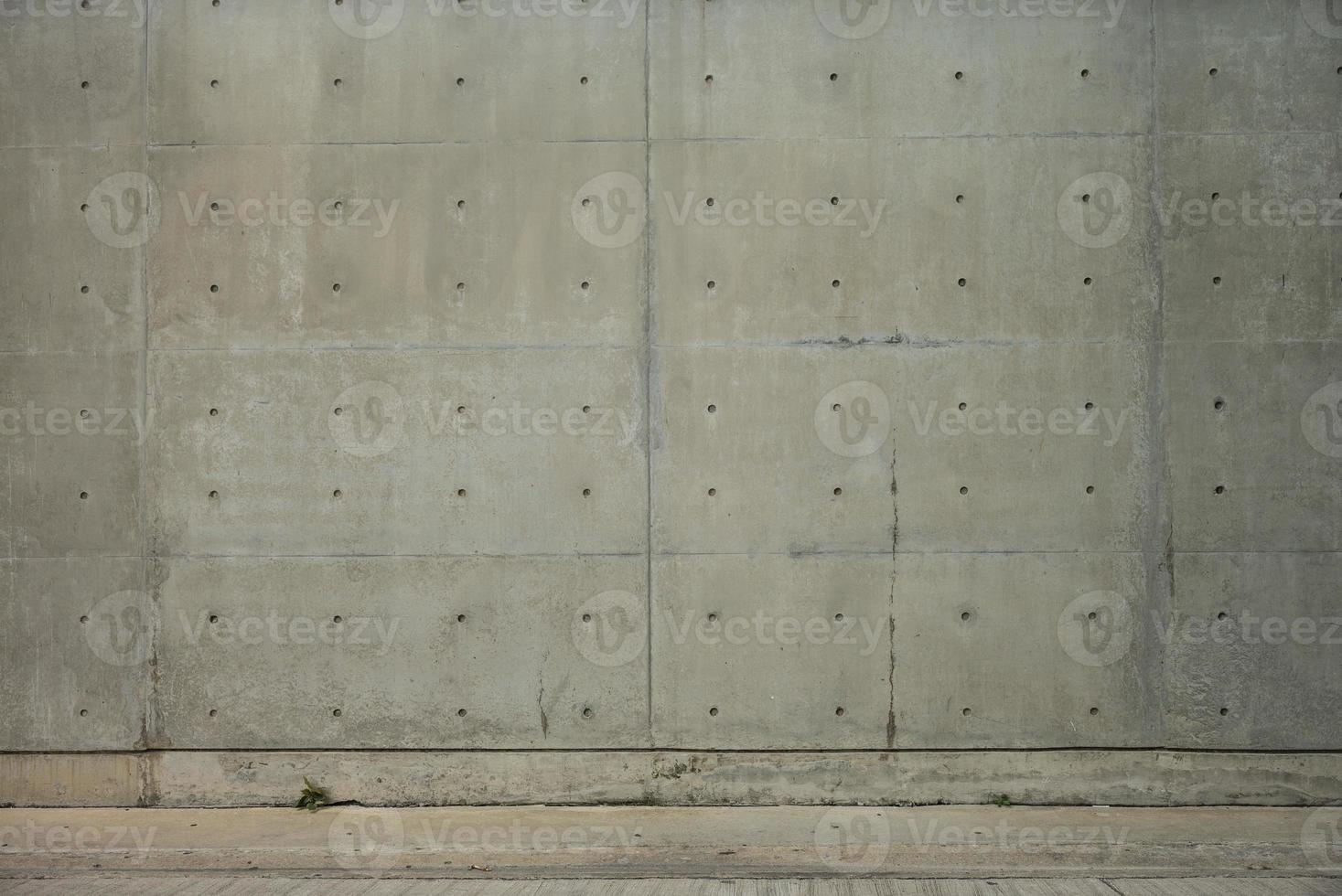 betongvägg och cementgolv för kopieringsutrymme foto