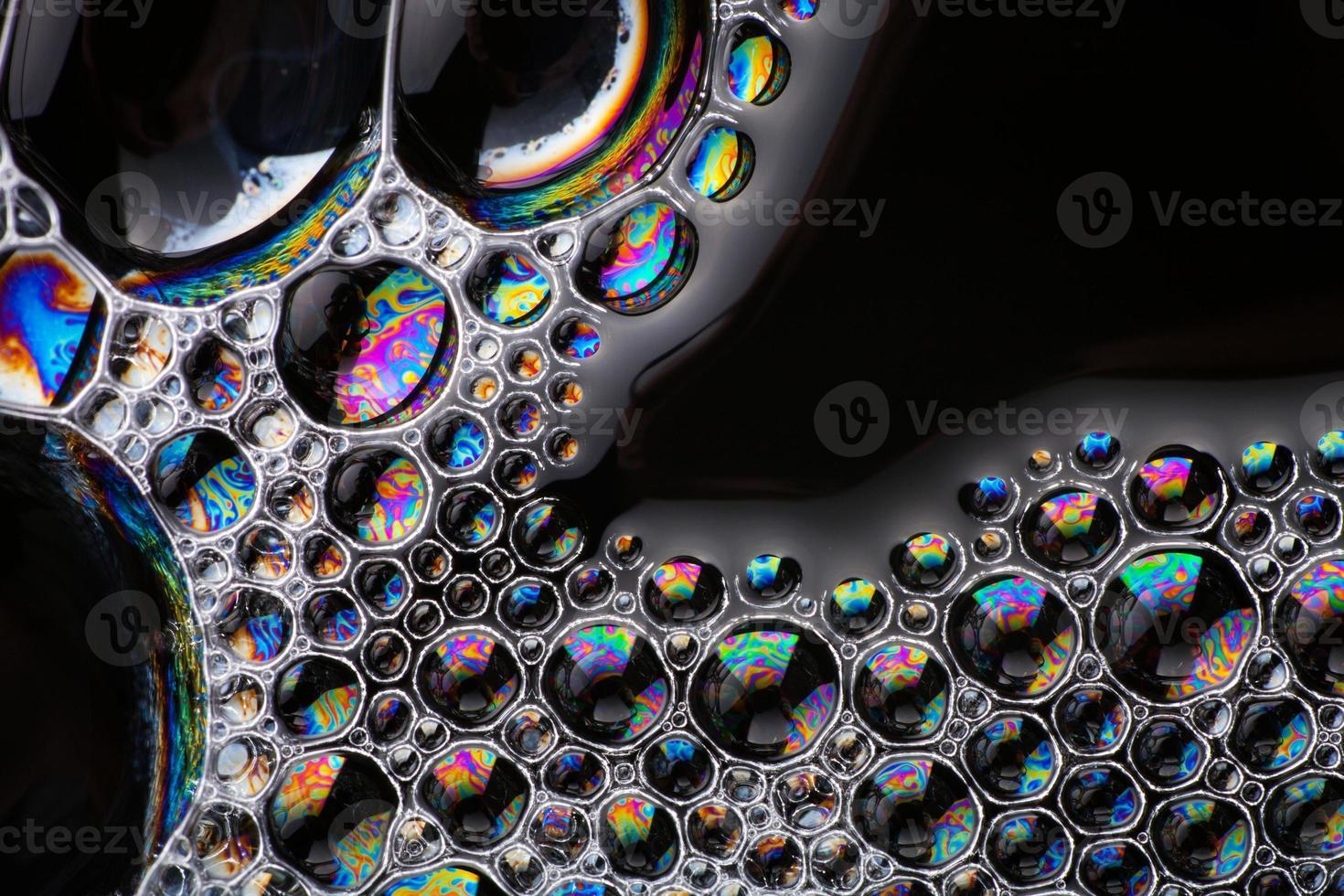 tvål bubblor abstrakt makro struktur kopia utrymme foto