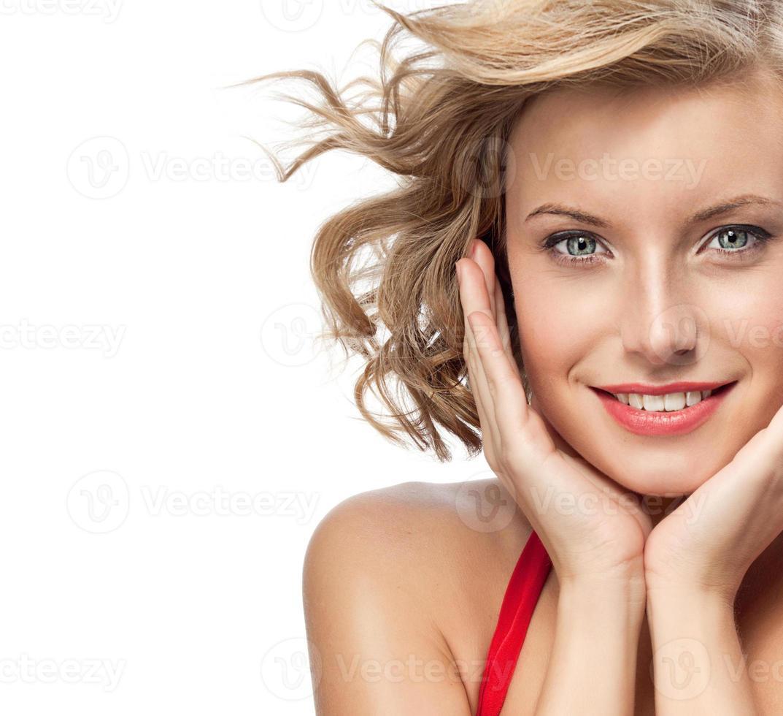 kvinna skönhet foto
