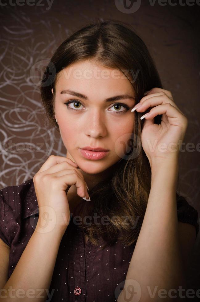 ung flicka foto