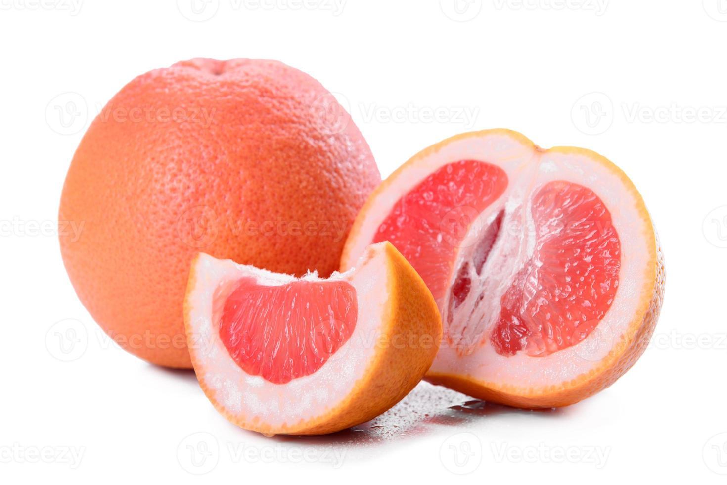 färsk grapefrukt närbild foto