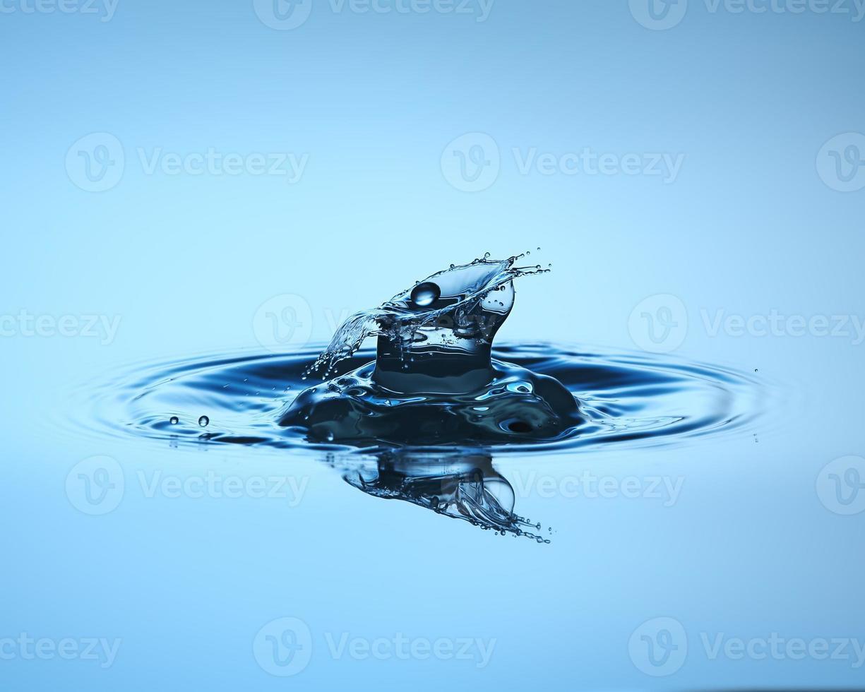 vattendroppe på nära håll foto
