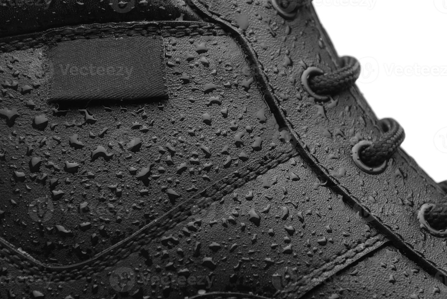 vattentät sko foto