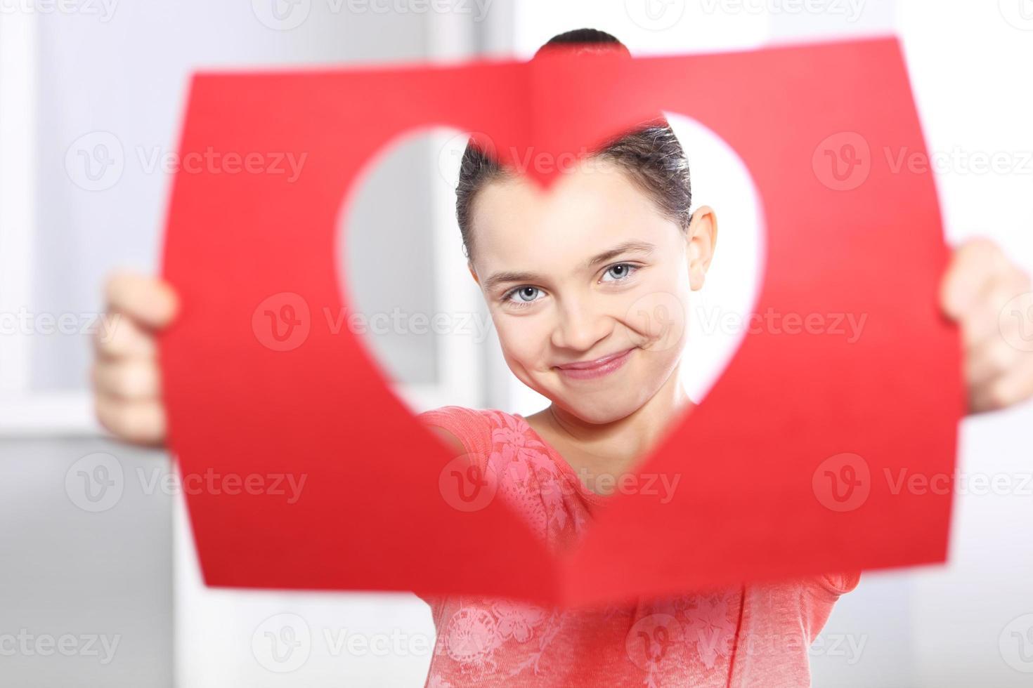 alla hjärtans dagskort foto