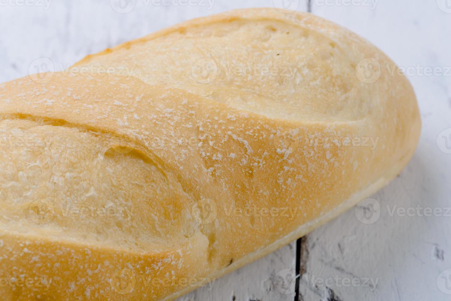 färskt bröd stängt. foto