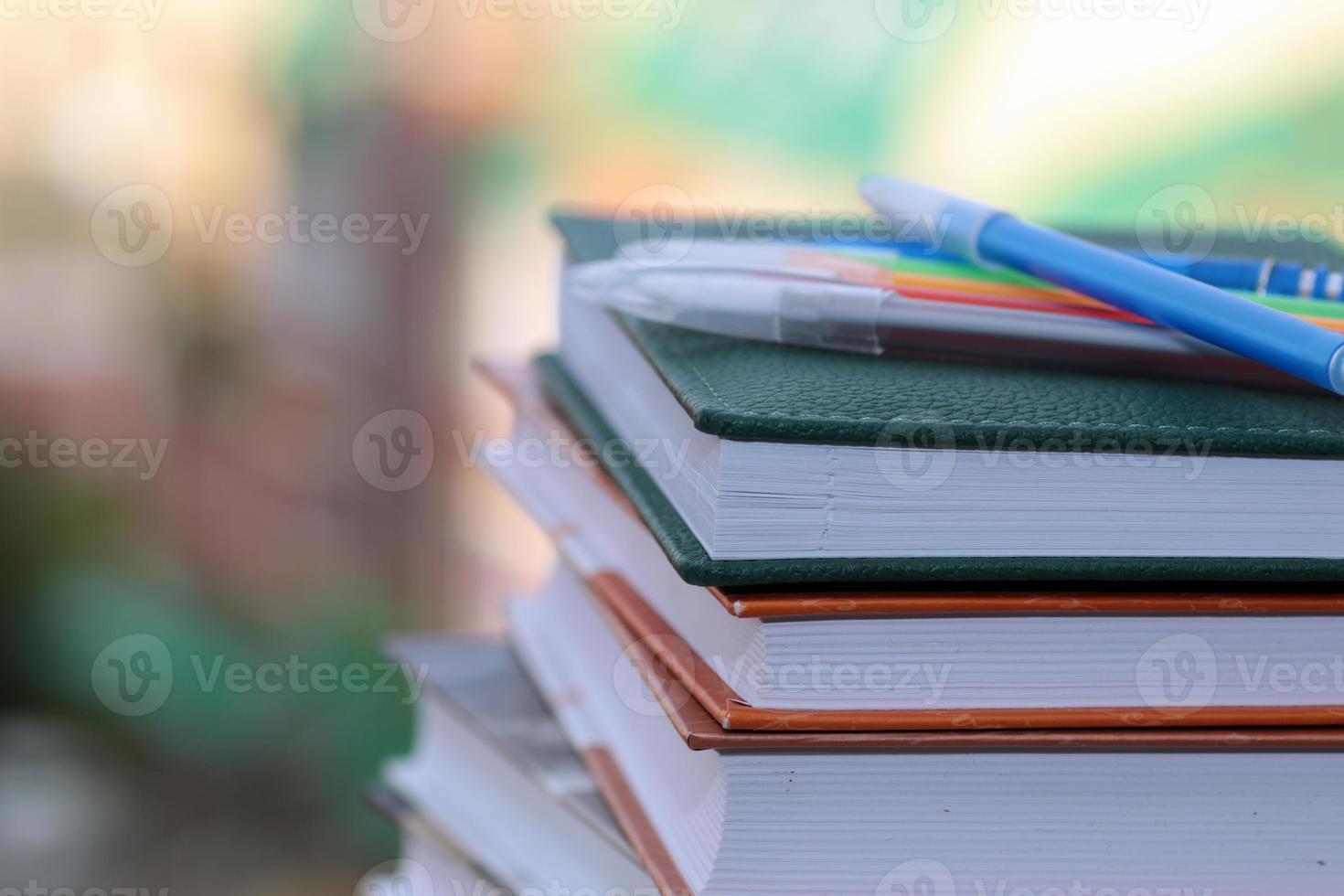 penna studie läroböcker foto
