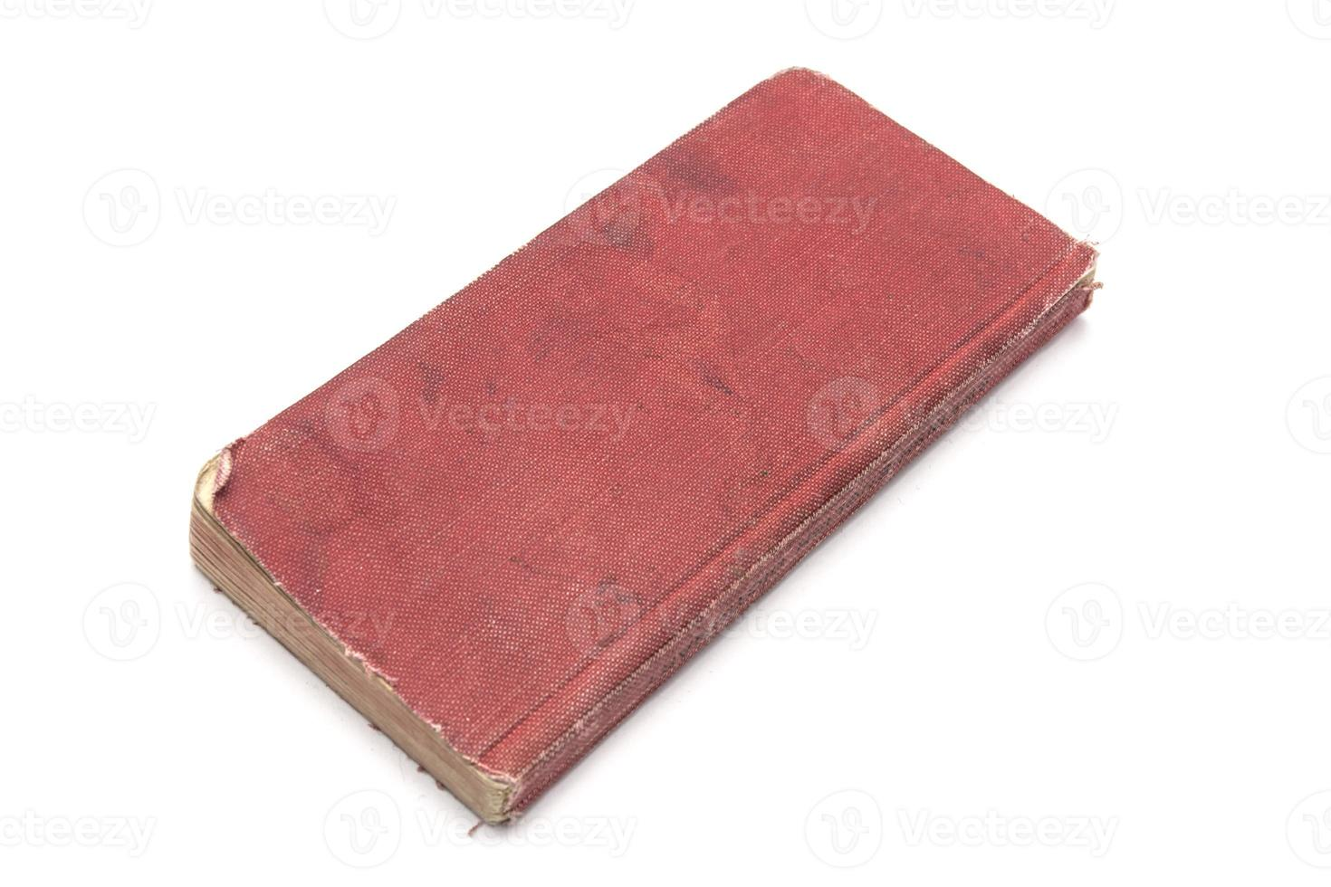 röd bok foto