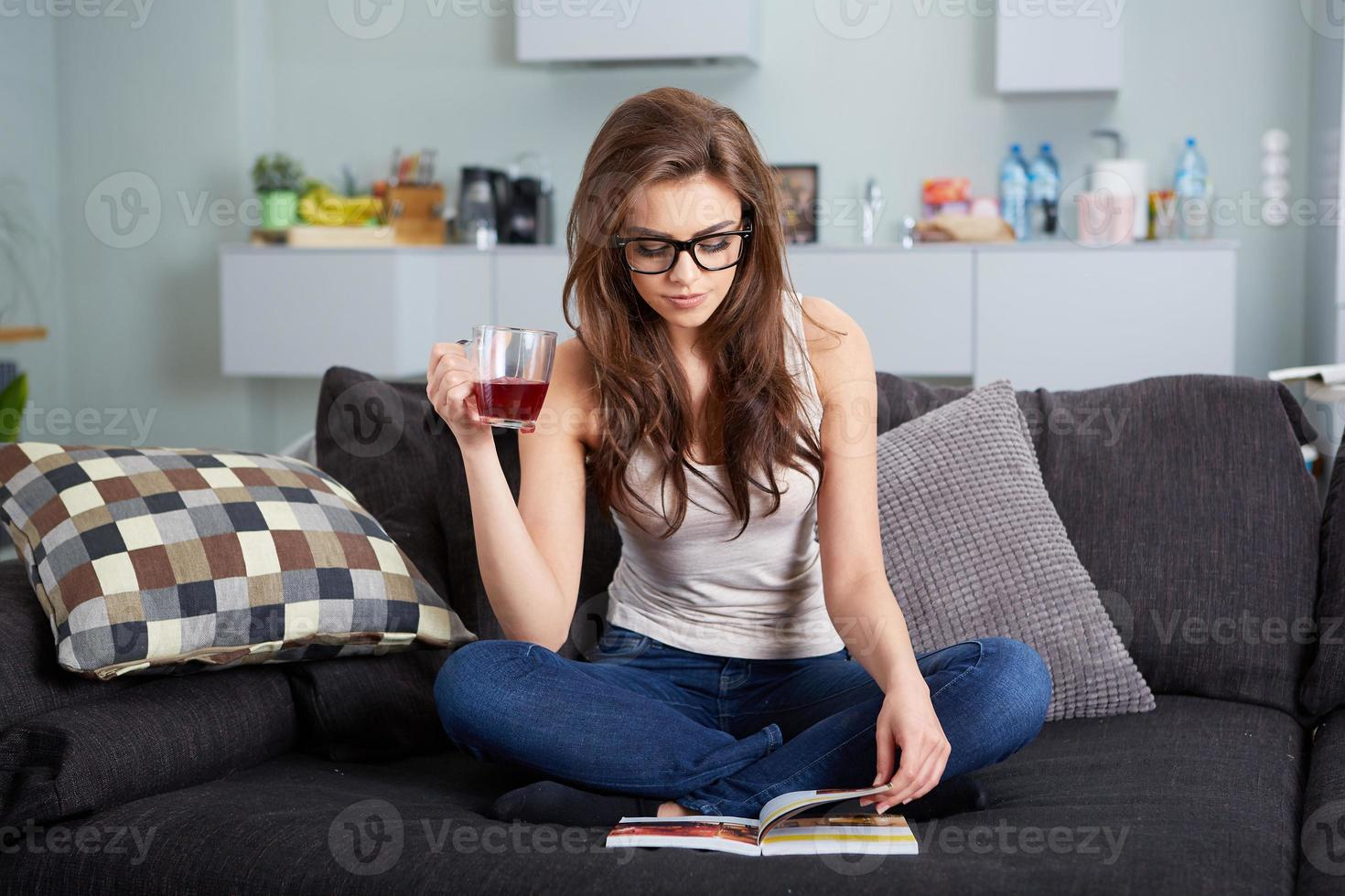 leasure och hemmakoncept foto