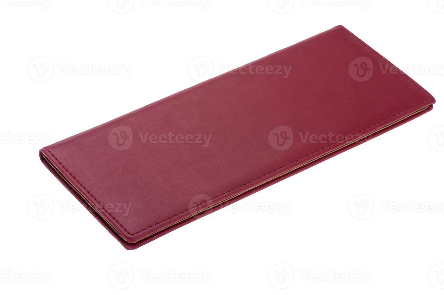 ny röd handbok foto