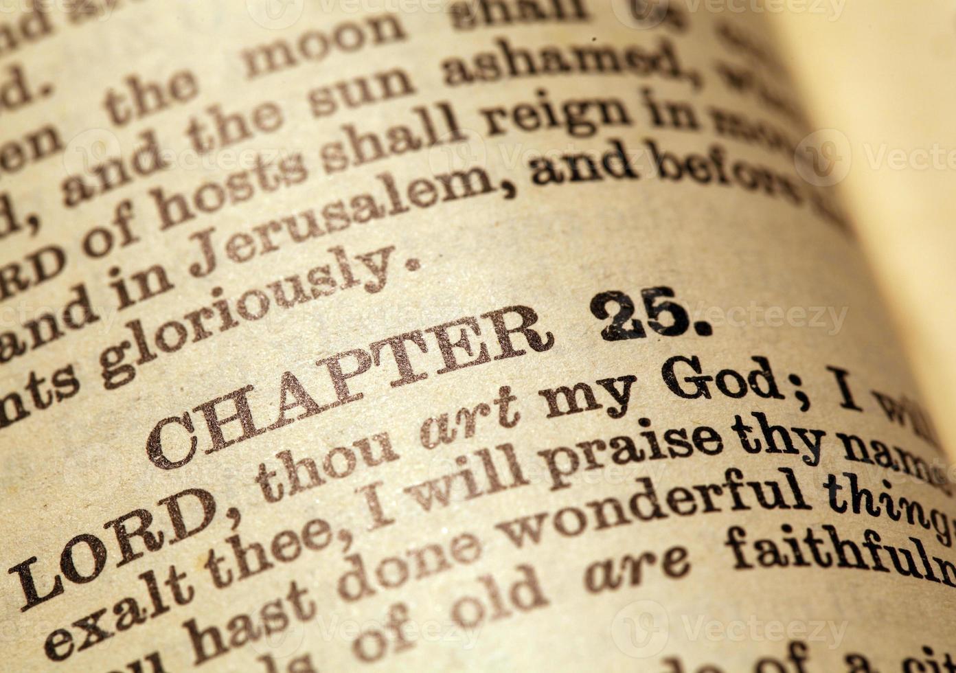 heliga Bibeln foto