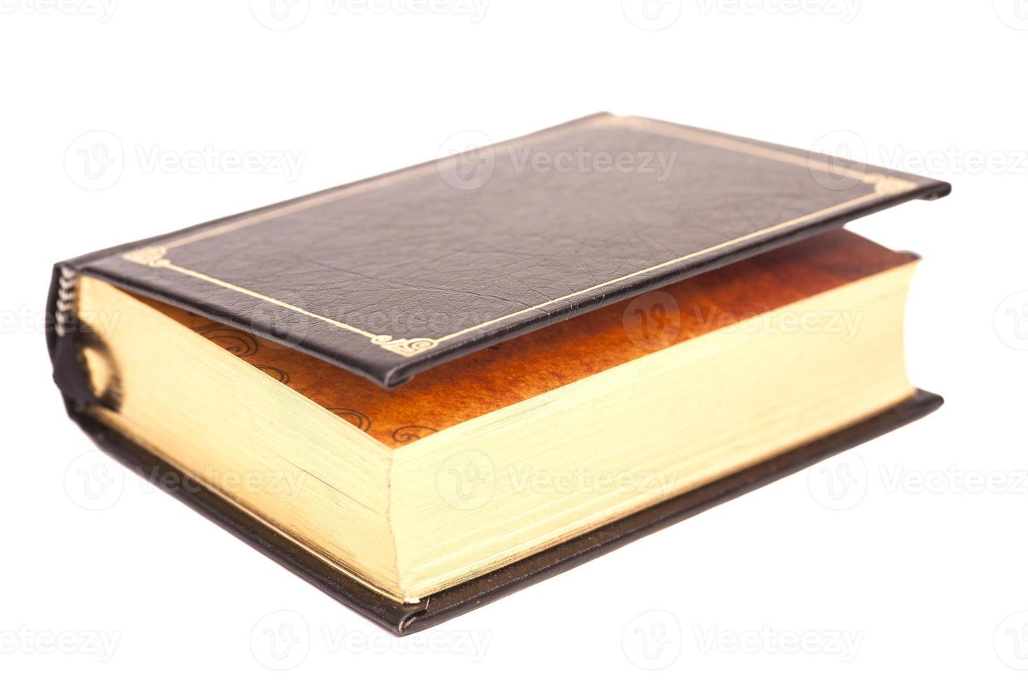 bokomslag isolerad på vit bakgrund foto
