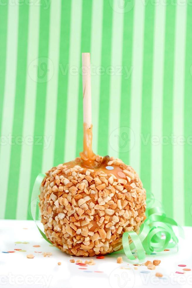 karamell godis äpple foto