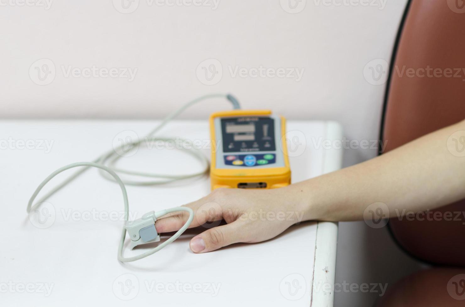 medicinsk utrustning och syre foto
